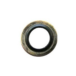 Iron-rubber gasket